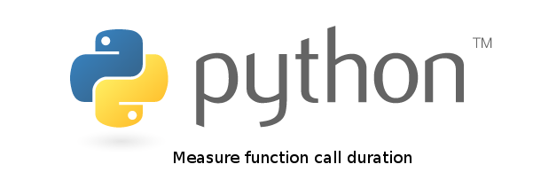 How to measure function call duration in python