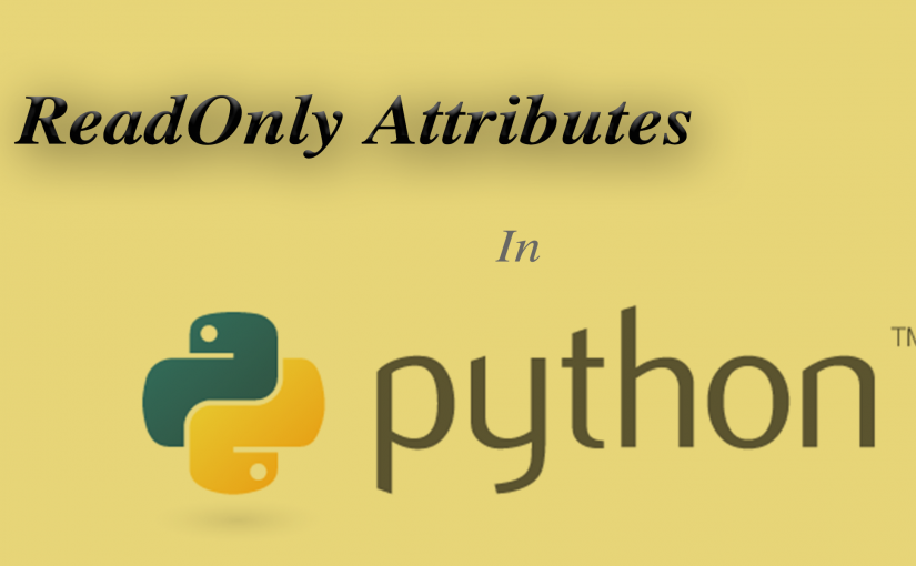 ReadOnly Attributes in Python